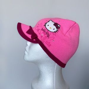 Hello Kitty New With Tag Cabby Beanie Hat